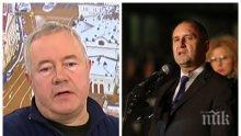 Харалан Александров разби Радев: Президентът не може да застава до пошли маргинали