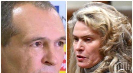 САМО В ПИК TV: Ето я мистериозната жена на Васил Божков - Елена Динева се появи в съда и обеща да не бяга (ЕКСКЛУЗИВНА СНИМКА/ОБНОВЕНА)