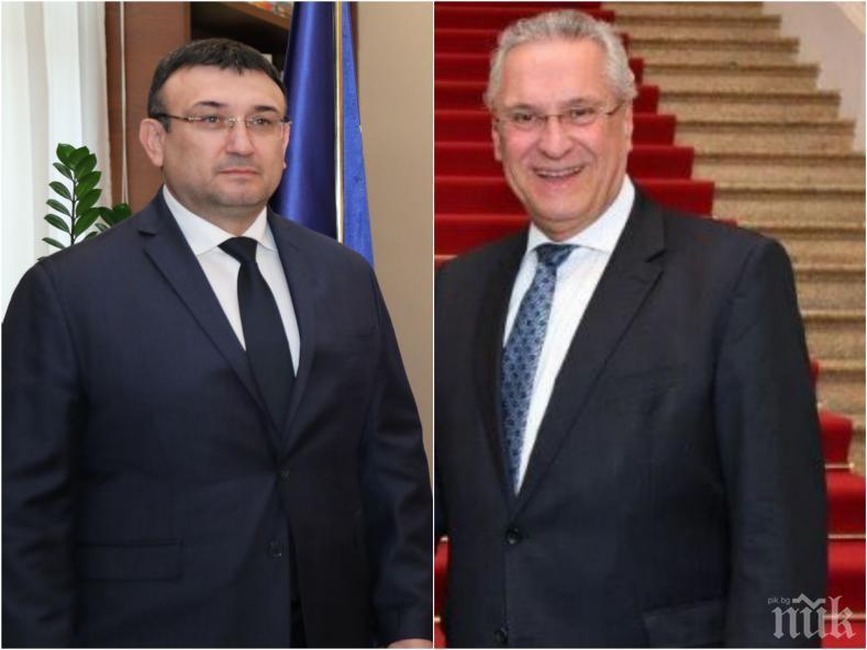 ИЗВЪНРЕДНО В ПИК TV: Министър Маринов обсъди миграцията и проблема с коронавируса с баварския си колега Йоахим Херман (ВИДЕО/ОБНОВЕНА)