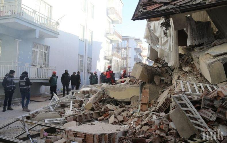 Най-малко седем жертви след земетресението на границата между Турция и Иран