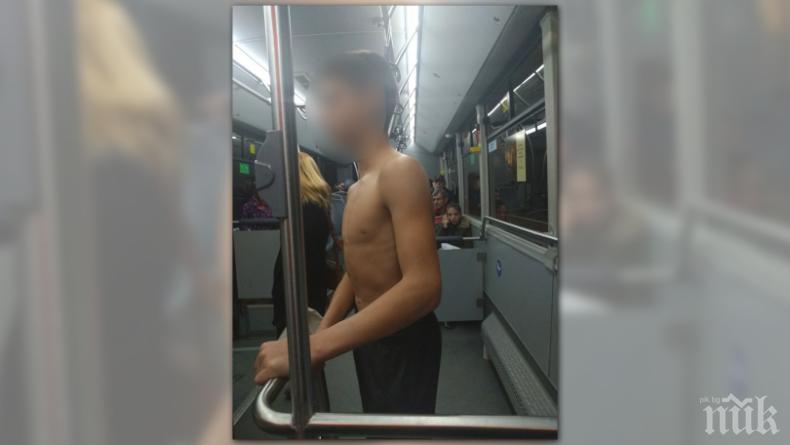 Проговори нападнатото и съблечено в столичен автобус момче