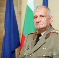 ТЪЖНА ВЕСТ: Почина началникът на отбраната ген. Боцев