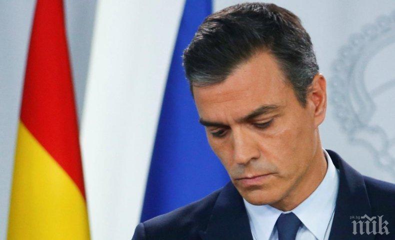 Испанският премиер и каталунският лидер се срещнаха в Мадрид