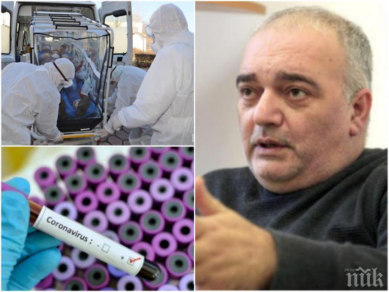 НА ВНИМАНИЕТО НА СЛУЖБИТЕ: Фалшификаторът Бабикян подлуди България с менте новина за заразени с коронавирус - няма болни във ВМА (СНИМКИ)