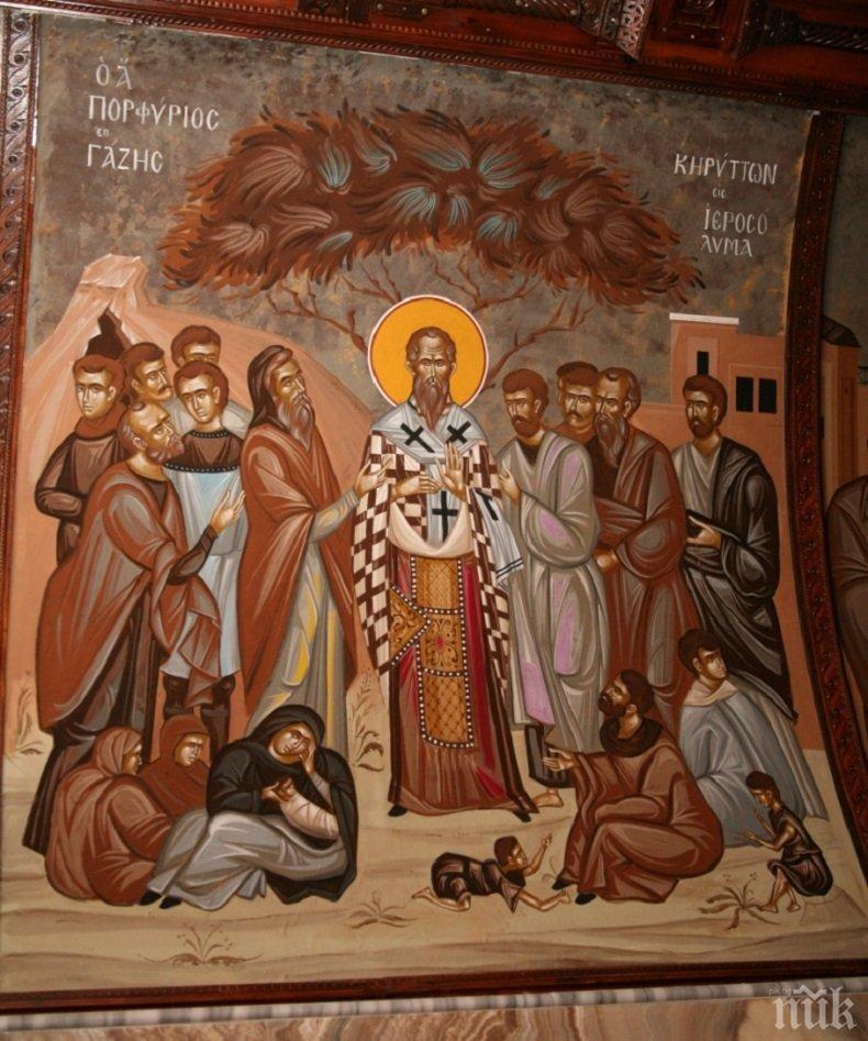 ОГРОМНА ПОЧИТ: Честваме велик светец, прославил се с живота и подвизите си