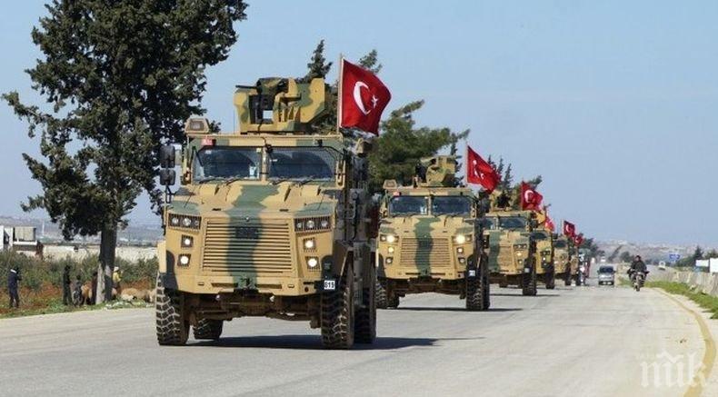 Турските власти обявиха за убити военни при въздушен удар в Идлиб