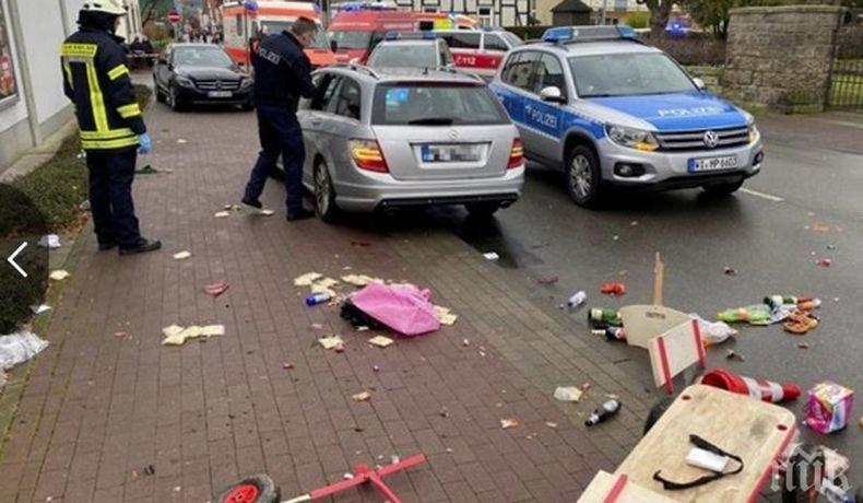 Нападателят на карнавала в Германия е ранен