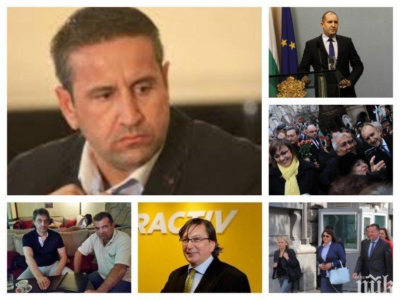 Георги Харизанов: Румен Радев, старата манджа с Барселона и безсилието на компроматите