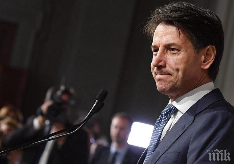 Премиерът на Италия предупреди, че разпространението на коронавируса може да се отрази сериозно на икономиката