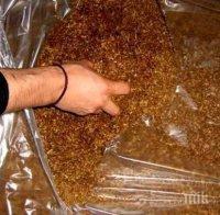 Задържаха 78 кг нелегален тютюн до Мездра