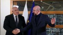 ПЪРВО В ПИК: Премиерът Борисов разговаря с председателя на Европейския съвет Шарл Мишел