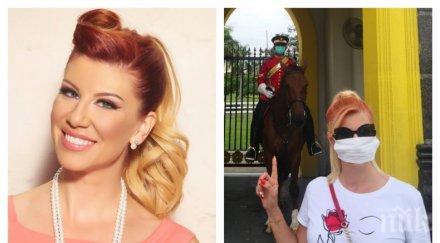САМО В ПИК TV: Нелина по спешност в инфекциозното на Военна болница - тестваха звездата за коронавирус