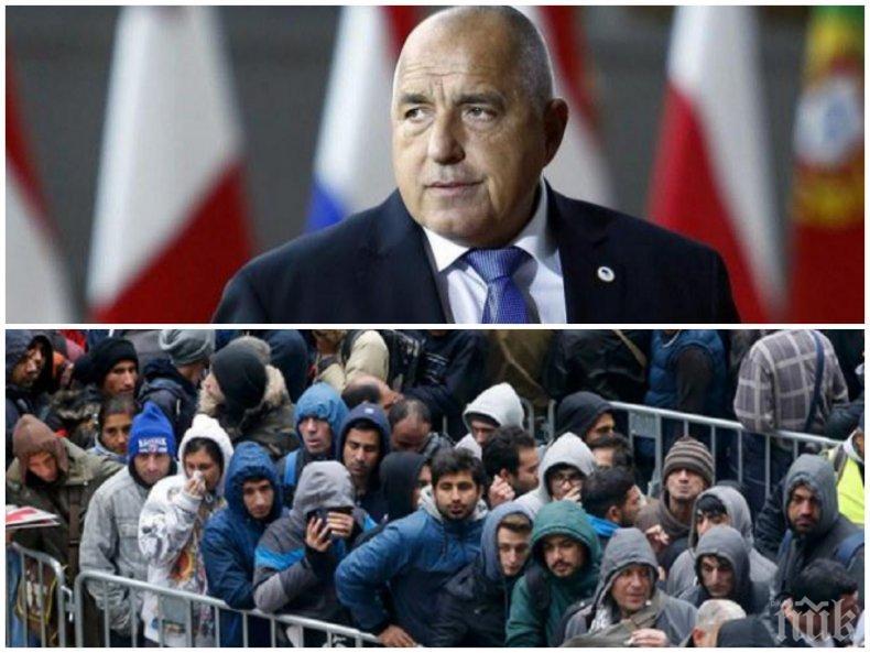 ПЪРВО В ПИК TV! Борисов: Изпратихме армия и жандармерия по границите заради струпване на мигранти, чакам връзка с Ердоган (ВИДЕО/ОБНОВЕНА)