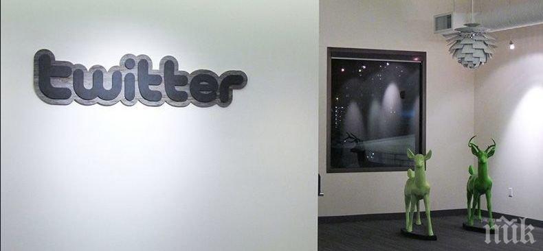 """Заради коронавируса: От """"Туитър"""" препоръчаха на сътрудниците си да работят от домовете си"""