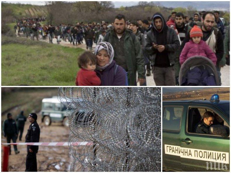 ПОТРЕСАВАЩО ВИДЕО: Бежанците от Турция се струпват на границата с Гърция, искат да им отворят пътя към Европа