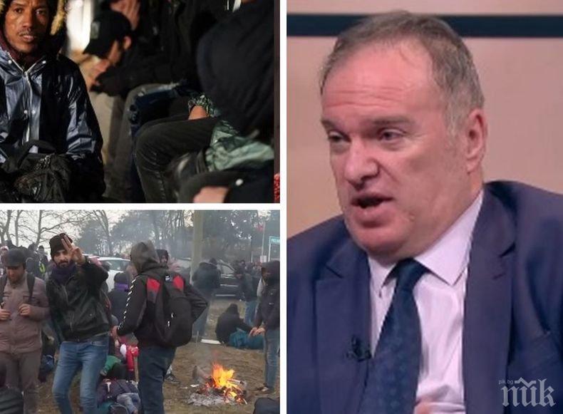 Арабистът проф. Владимир Чуков: Турция не спира бежанците, защото търси съюзници
