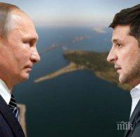 Зеленски иска разговор с Путин за напрежението за ескалиращия конфликт в Източна Украйна