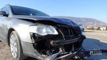 НЕВИЖДАН ЕКШЪН: Мъртво пияна шофьорка шпори с лимузина в насрещното - избяга от полицията, помля две коли и се заби в стълб