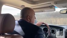 """ИЗВЪНРЕДНО В ПИК TV: Премиерът инспектира участък от магистрала """"Хемус"""": Ако е било лесно, комунистите да са я направили (СНИМКИ)"""