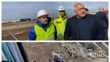 """ПЪРВО В ПИК TV: Борисов инспектира """"Балкански поток"""" от въздуха: България ще играе ключова роля в газоразпределението в Европа за десетилетия напред (ВИДЕО/ОБНОВЕНА/СНИМКИ)"""