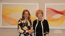 Екатерина Захариева обсъди сътрудничество след Брекзит с британския министър за Европа и Америка
