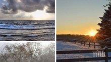 ПРЕДИ СЛЪНЦЕТО: Валежи със силен вятър, сняг в планините, но топло - до 20°