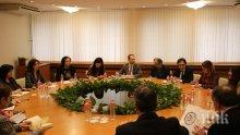 Теменужка Петкова се срещна с енергетици от САЩ за тецовете