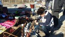 Търговците на битака в Димитровград въртят алъш-вериш без да плащат такси