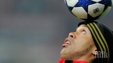 Футболният вълшебник Роналдиньо се включи в турнир в затвора, още в първата среща Диньо записа...