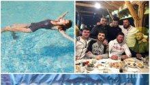 ВЪПРЕКИ ЗАБРАНАТА: Селски кмет разпуска с приятели в кръчма, а хотели пускат гости да се плацикат в басейните (СНИМКА)