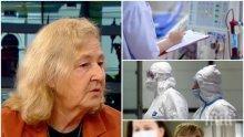 Проф. Мира Кожухарова: Вълната тепърва предстои, но ако спазваме дисциплината срещу коронавируса, да се надяваме, че след май месец няма да имаме проблеми