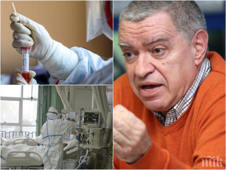Проф. Константинов пред ПИК: Ето как се стигна до шокиращата прогноза, че 150 000 българи ще умрат от коронавируса