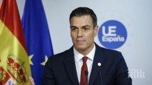 Испания хвърля 200 млрд. евро в борбата с коронавируса