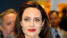 Карантина и за Джоли - супер звездата се презапасява с храна