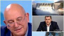 САМО В ПИК TV: Екоминистърът Емил Димитров за водната война в Перник: Кметът да обясни защо забави с 40 дни документите - вода има отдавна! Режимът зависи само от градоначалника (ВИДЕО)