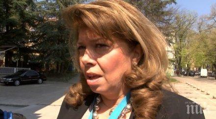 Илияна Йотова адмирира мерките на правителството срещу коронавируса
