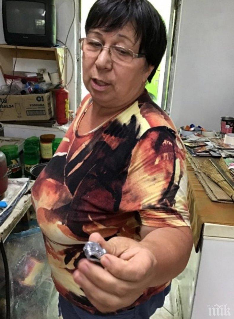 Баячката Марияна лее куршум срещу болести и карък