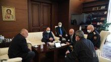 Премиерът Борисов на важна среща с учените от БАН заради коронавируса