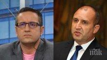 САМО В ПИК: Георги Харизанов: Радев лъже, че е пренебрегван, търси политическо внимание! Ясно е собствениците на сайтовете за фалшиви новини като Бабикян за чии щабове работят