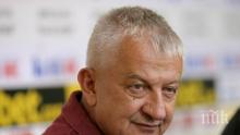 Крушарски с ударен коментар след днешното решение за първенството