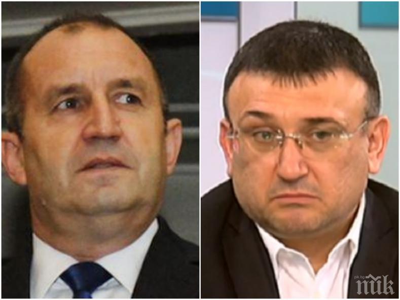 ИЗВЪНРЕДНО В ПИК: Младен Маринов изненадан от ветото на Радев - обясни как армията може да помогне в битката с коронавируса