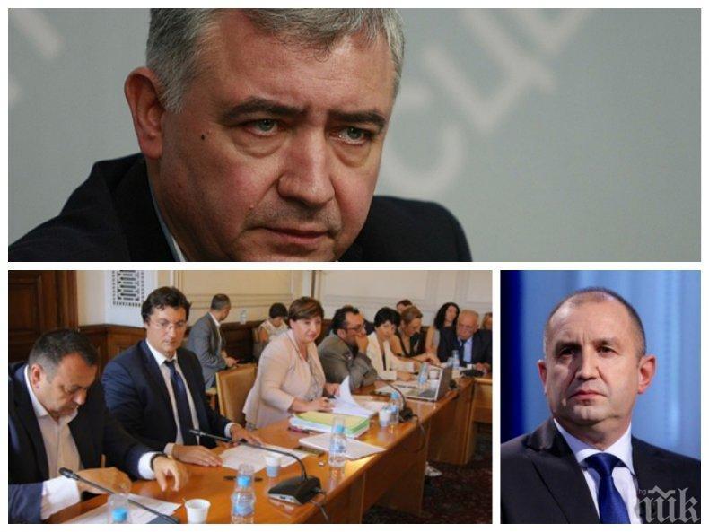 Атанас Мерджанов пред ПИК: Групата на БСП демонстрира пълна неадекватност към извънредната ситуация