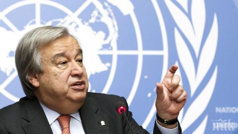 ООН ще помага на бедните страни в борбата с коронавируса
