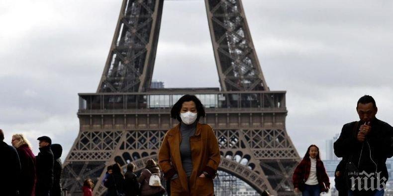 Броят на жертвите на коронавируса във Франция достигна 1331 души