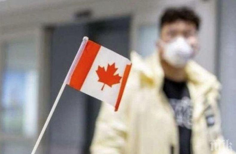 Броят на заразените с коронавируса в Канада за денонощие почти се удвои