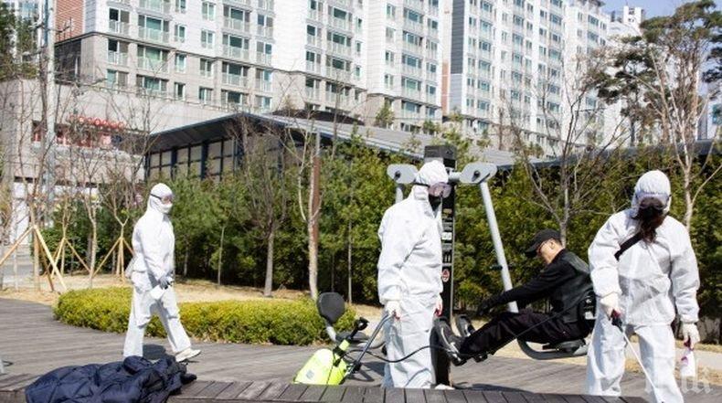 Над 100 нови случая на заразяване с коронавируса в Южна Корея