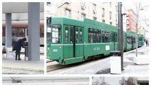 САМО В ПИК: Невиждана гледка в градския транспорт в София насред извънредното положение (ФОТОРЕПОРТАЖ)