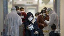 Коронавирусът покоси 75 души в Турция само за ден
