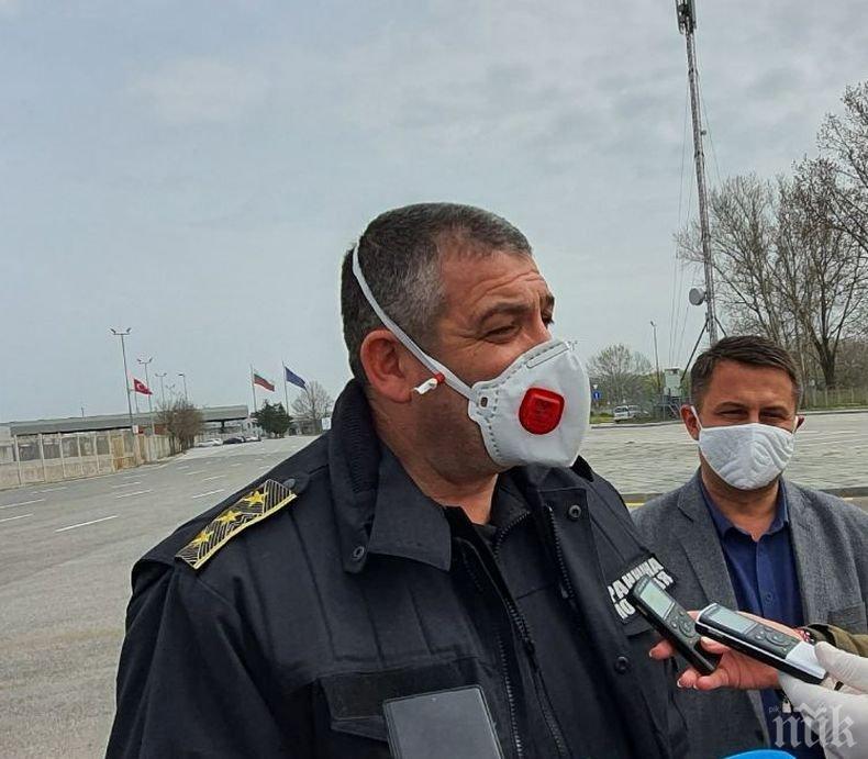 Шефът на гранична полиция: Взетите мерки от държавата и направената организация дават резултат