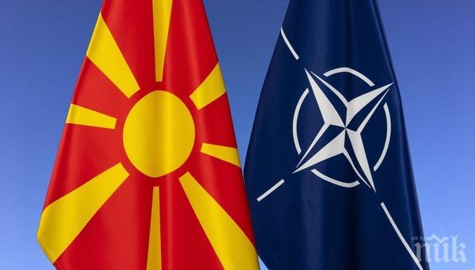 Премиерът Борисов поздрави Северна Македония за членството в НАТО